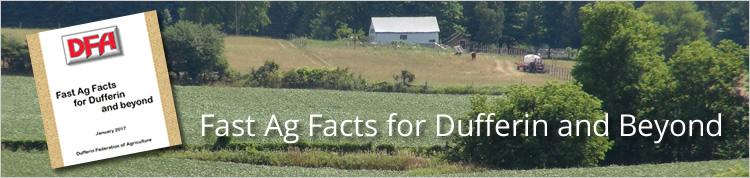 Fast Agriculture Facts for Dufferin and Beyond