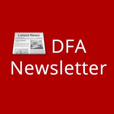October DFA Newsletter